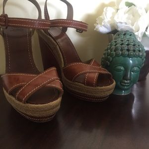 Louboutin Wedge Espadrille Sandal